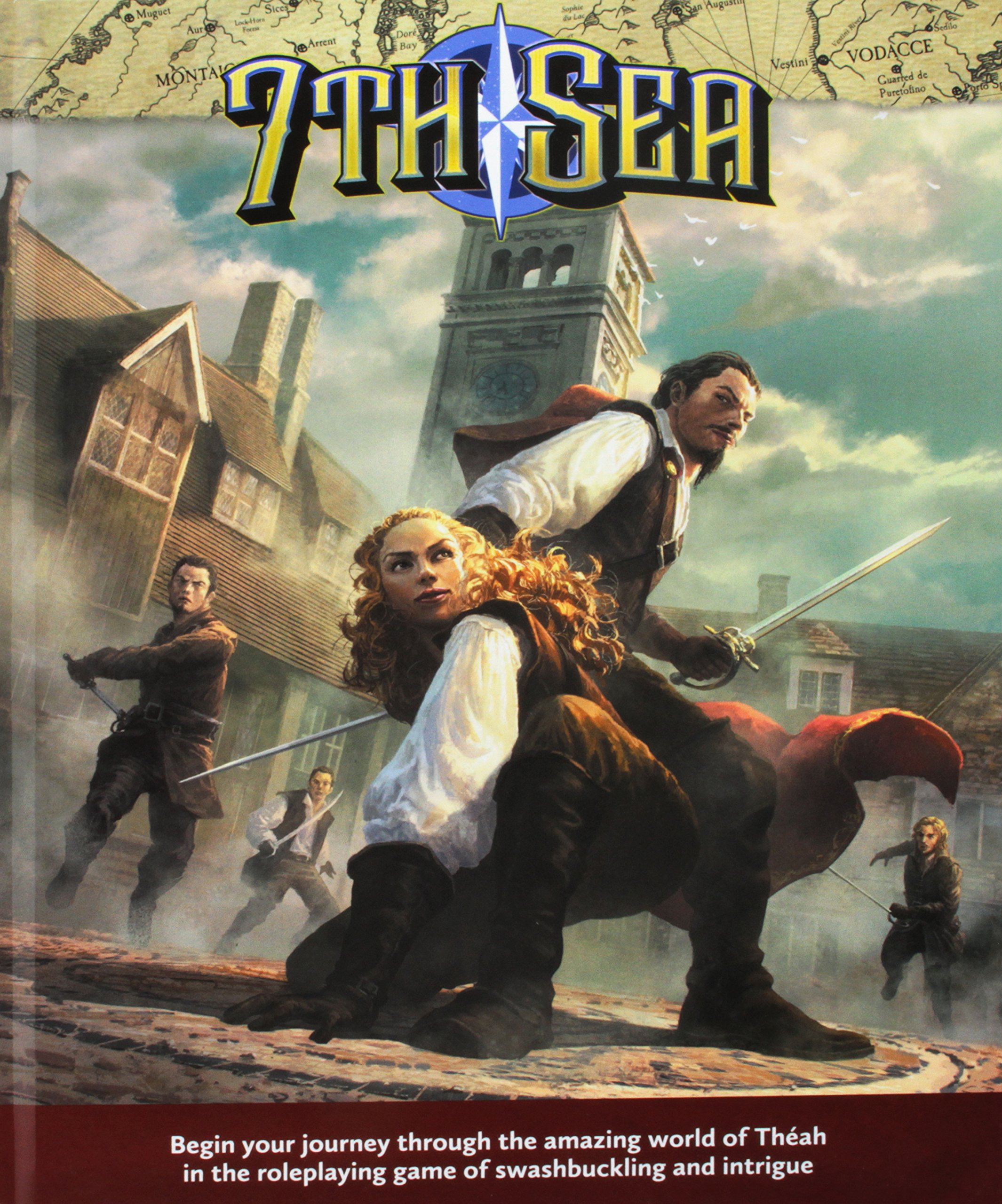 7th Sea: Swashbuckling Roleplaying