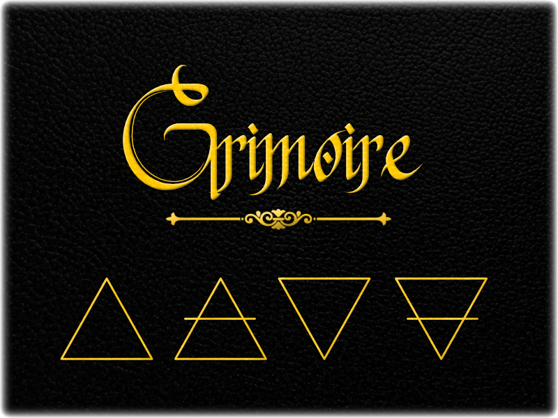 Grimoire: A Solo Roleplaying Game.