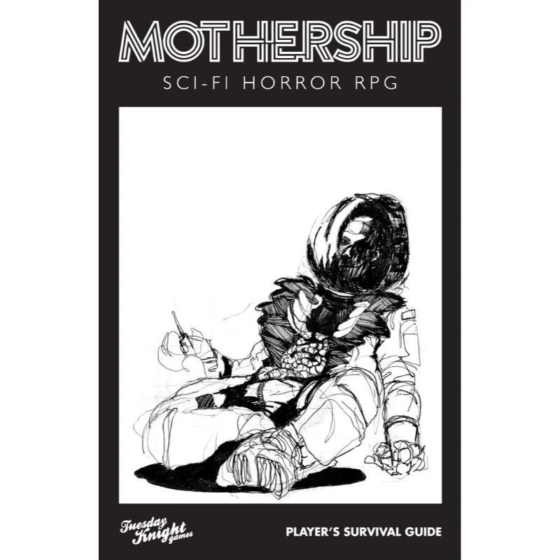 Mothership RPG: Sci-fi Horror roleplaying